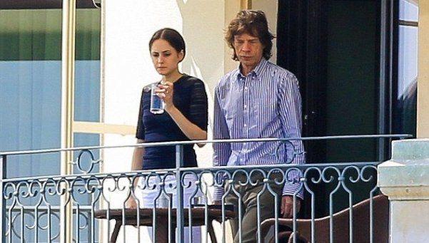 """""""No es de piedra"""": a los 72, Mick Jagger será padre por octava vez"""