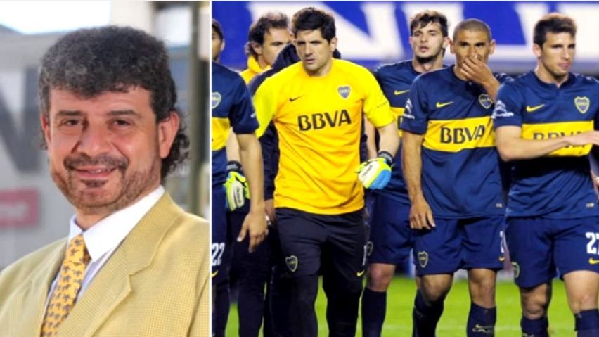 Audio | El relator partidario de Boca, sacado