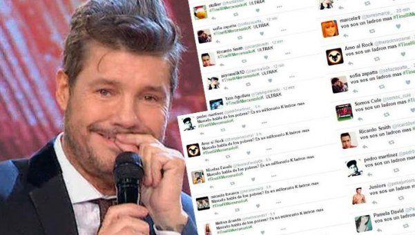 Tinelli denunció una campaña de desprestigio en Twitter