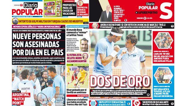Edición de Diario Popular