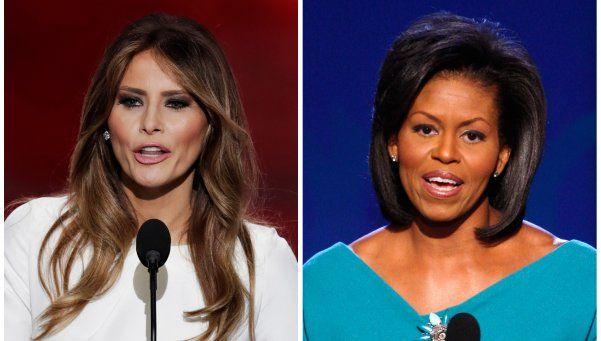 Video | La esposa de Trump copió un discurso de Michelle Obama