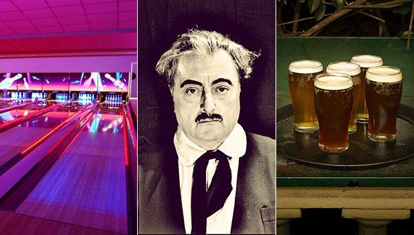 Teatro, bowling y copas: 3 opciones para el fin de semana