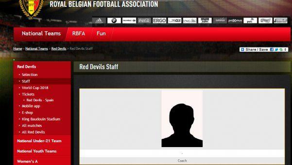 Se busca técnico: la Selección de Bélgica publicó un aviso