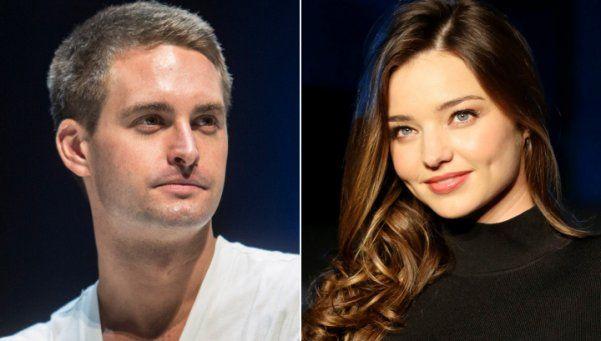 Uno de los creadores de Snapchat se casa con Miranda Kerr