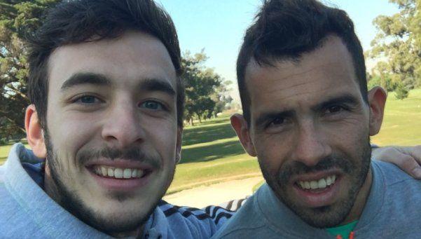 Tevez decide su futuro jugando al golf en Montevideo