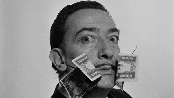 La obra de arte más valiosa de Dalí es un logo
