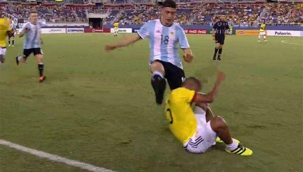 La Selección olímpica igualó 0-0 con Colombia y Calleri erró un penal