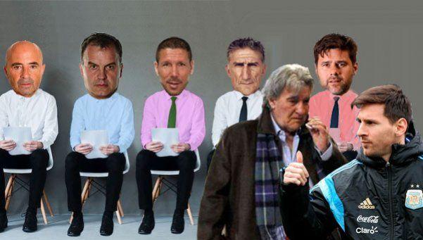 Al técnico de la Selección lo entrevista Armando, pero lo elige Messi