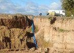 Exigen un plan para rellenar la enorme cava de San Vicente