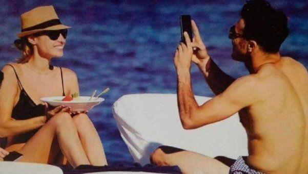 Pampita y Pico Mónaco, apasionados en Ibiza