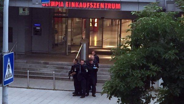 Video | Así empezó el tiroteo en Múnich