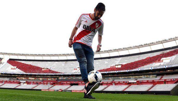 Marcelo Larrondo pasó la revisión médica y es jugador de River