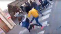 Video | Salvaje pelea de adolescentes durante el Día del Amigo
