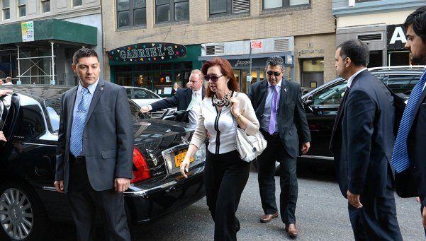 Bullrich ordenará la disminución de los custodios de Cristina