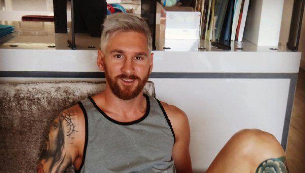 Messi se renueva: el sorprendente cambio de look de La Pulga