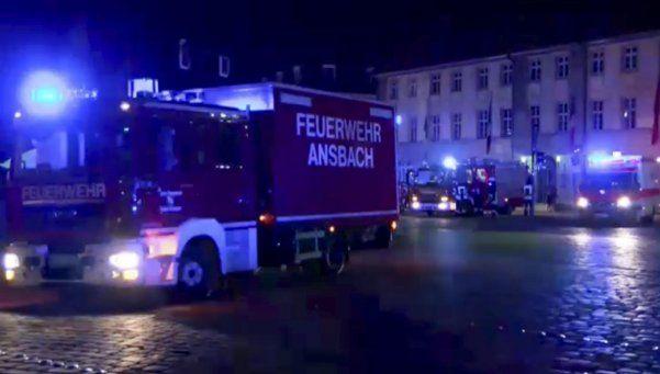 Más terror en Alemania: un hombre se inmoló y dejó 12 heridos