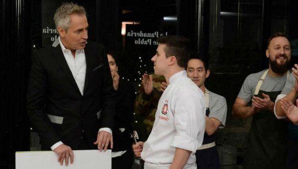 Rodrigo se impuso como primer Dueño de la Cocina
