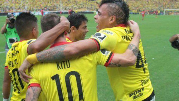 Fútbol sudamericano: Barcelona, copado
