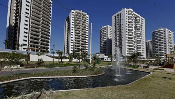 Goteras y falta de luz: problemas para Argentina en la Villa Olímpica