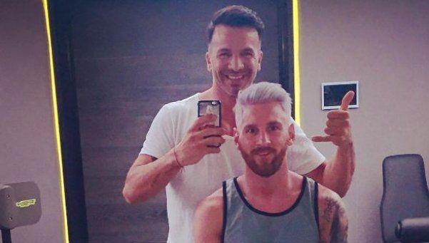 El peluquero de Messi contó cómo lo vio de ánimo: ¿sigue en la Selección?