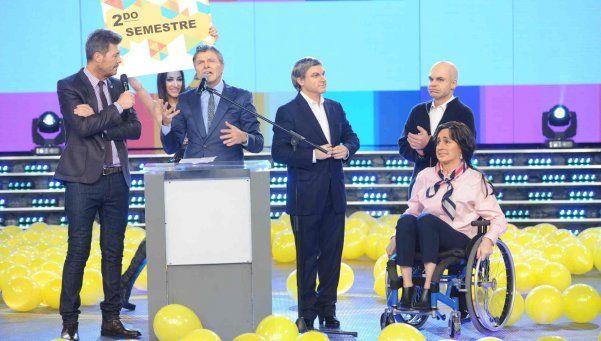 Marcos Peña se solidarizó con Tinelli y pidió bajar un cambio