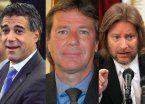 Tres jueces cuestionados resisten embestida oficial