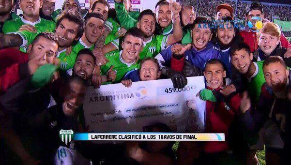 Copa Argentina: Laferrere eliminó a Argentinos por penales
