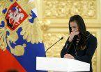 El llanto de Isinbayeva por la sanción a los atletas rusos