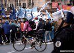 La CCC cortó Corrientes y Callao por amenazas a su líder
