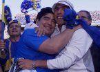 Maradona, sobre Tevez: Mi opinión fue deportiva, él es maravilloso