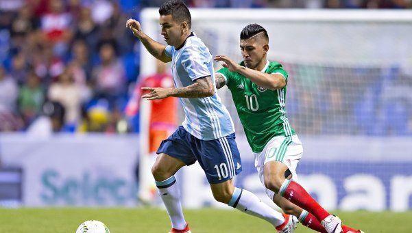 La Selección empató con México en el último partido antes de Río