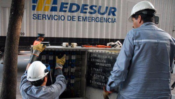 Los trabajadores de EDESUR culpan a la empresa por los cortes