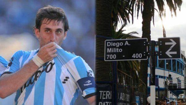 Diego Milito, un Príncipe con calle propia