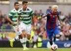 Messi estrenó el platinado y no convirtió, aunque el Barsa cumplió