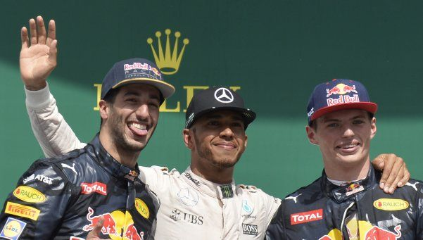 F1: Hamilton, imparable, ganó en Alemania y suma cuatro al hilo