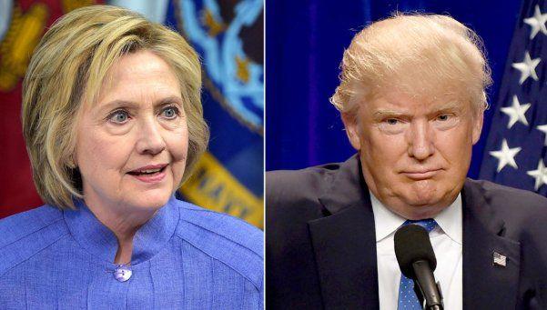 Clinton ahora le saca siete puntos a Trump, según una encuesta