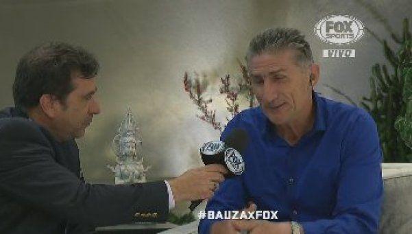 """Bauza: """"Soy optimista con Messi, siempre estuvo comprometido con la Selección"""""""