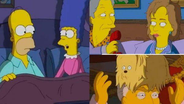 Video | ¿Sabés porqué Los Simpsons votarán a Hillary Clinton?