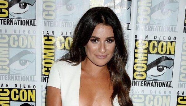 """El impactante desnudo de la estrella de """"Glee"""""""