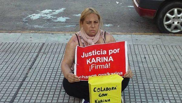 Karina  Abregú y su otra lucha para sobrevivir