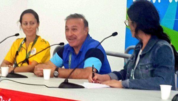 """Olarticoechea: """"Queremos jugar la final con Brasil, en el Maracaná"""""""