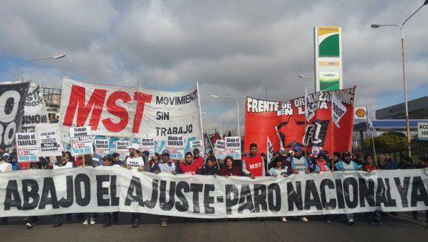 Murió militante del MST en un piquete en el Puente Pueyrredón