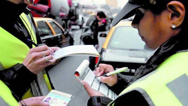 Subieron 25,32% las multas de tránsito en la Ciudad: las nuevas tarifas