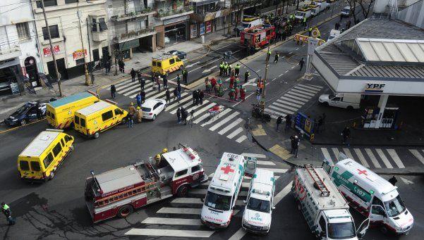 Escape de gas en Barracas: murió otro de los operarios