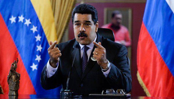 Maduro: Nos persigue el demacrado y fracasado de Macri