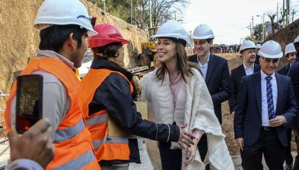Vidal anunció un mega plan de obras por $22.880 millones