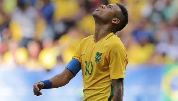 El Brasil de Neymar decepcionó en su debut en los Juegos