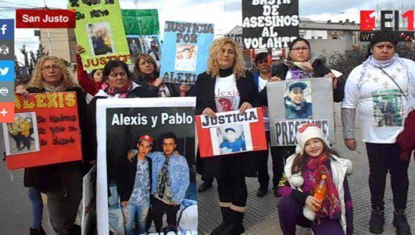 González Catán: exigen justicia para Alexis Flores