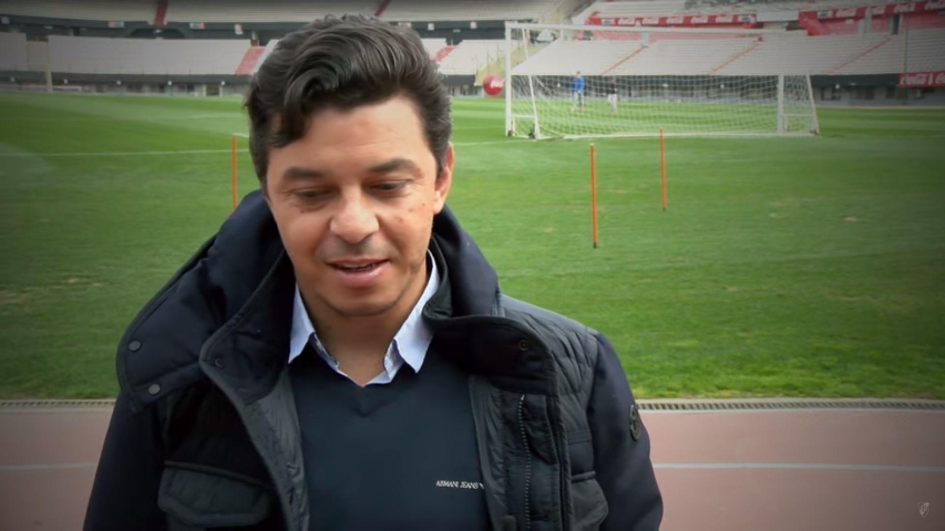 A un año, Gallardo y los jugadores recordaron la final de la Libertadores