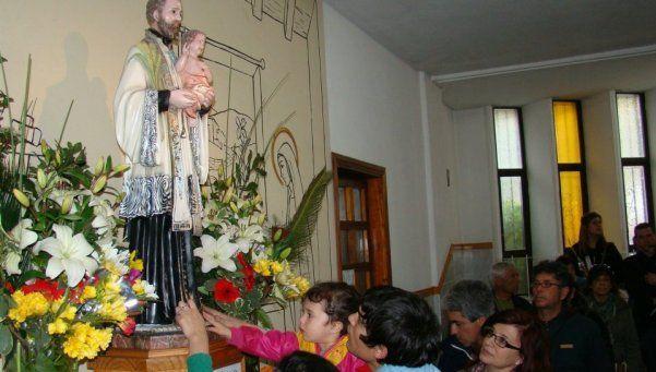 Parroquia San Cayetano de Burzaco se preaprara para recibir a miles de peregrinos